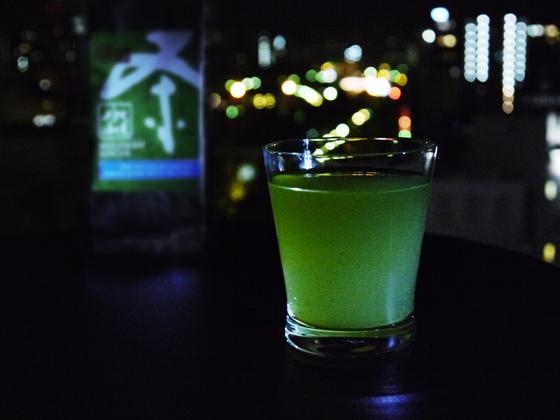 Mizudashi at night