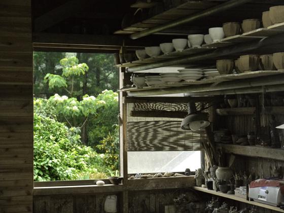 Werkstatt von Keramiker Yamashita