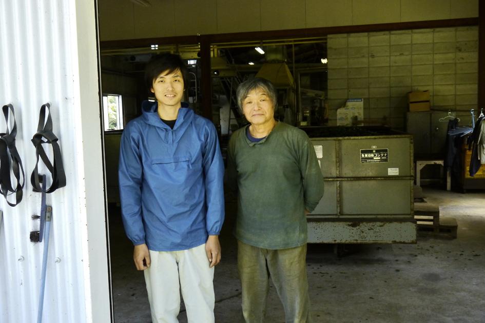 Keita et Mankichi Watanabe