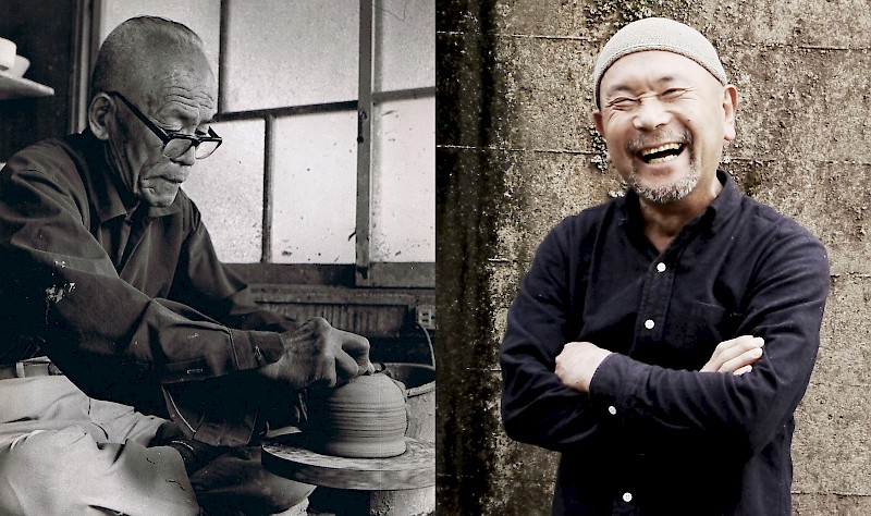 Ceramic artists Kato Juudai and Kato Juunidai: The 10th and 12th generation – grandfather and grandson