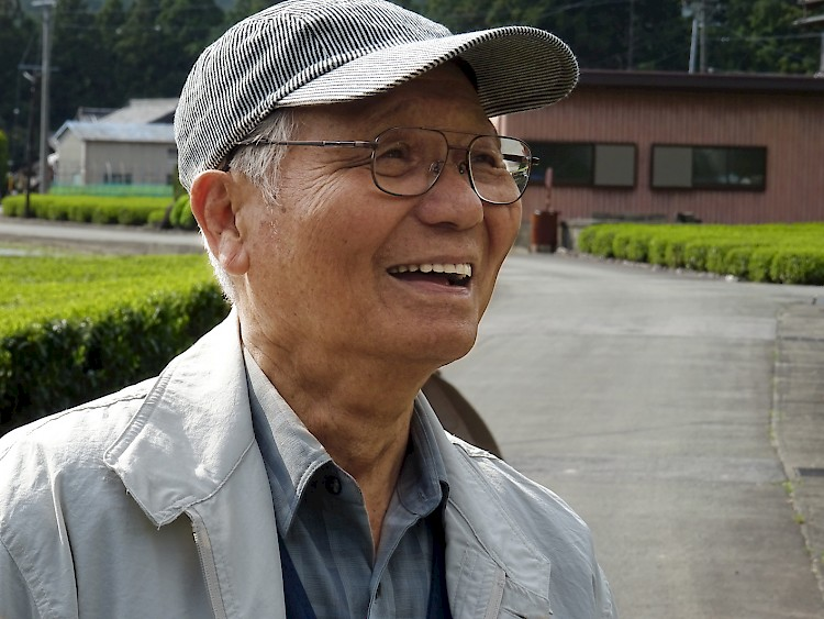 Iwao Hayashi - the founder of the organic tea garden in Mie Prefecture, Japan
