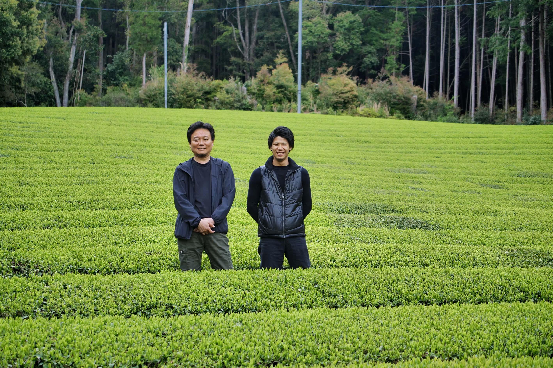 Kimihiko Hayashi (left) and his nephew Shuhei Hayashi (right)